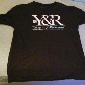 Young and reckless tee size large
